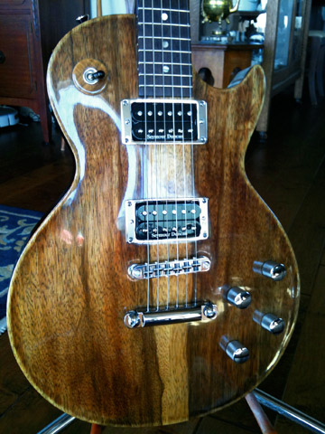 Warmoth Guitar Build & Review: LP Body   POLITUSIC