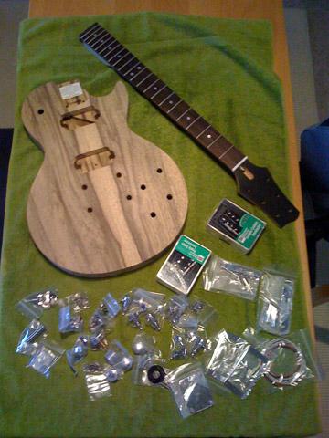 Warmoth Guitar Build & Review: LP Body