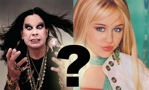 What does Ozzy Osbourne have to do with Hannah Montana?