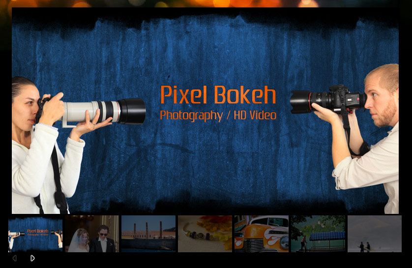 Friends: Pixel Bokeh Video and Photography