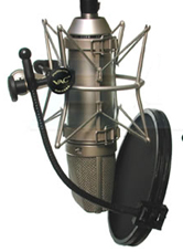 Recording Vocals: Using a Pop Filter