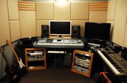 Recording Studio Design Gear Set Up