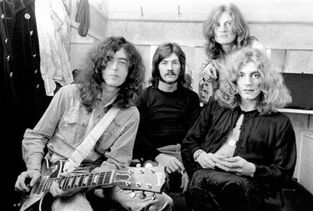 Led zeppelin backstage young bw politusic for Old deep house tracks