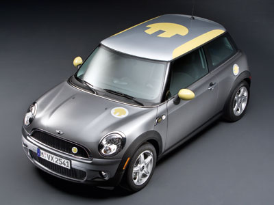 Mini E Electric Car Politusic