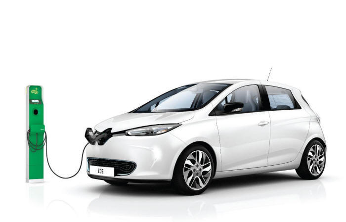 Plugin Electric Car