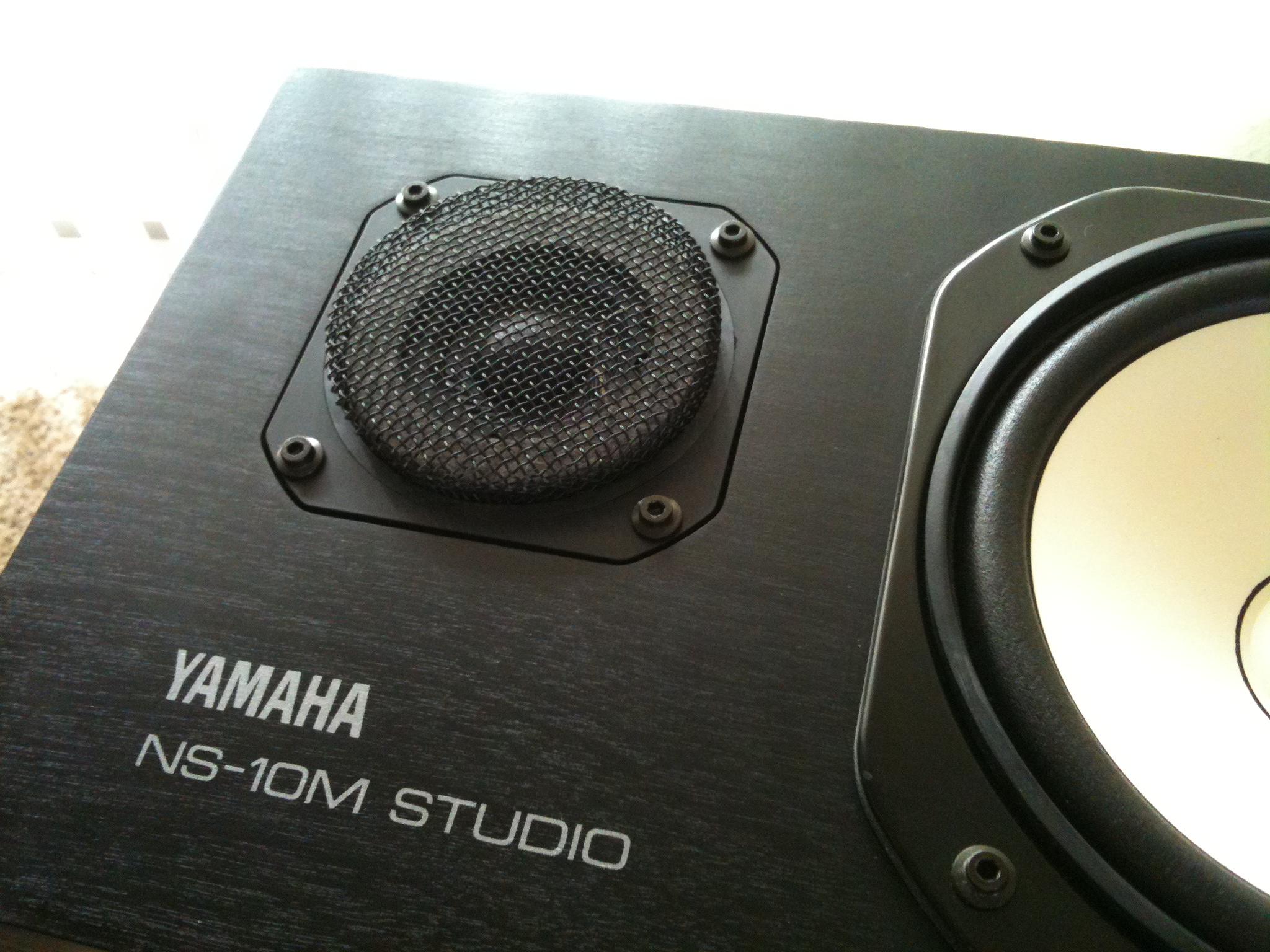Yamaha NS-10's Thank You Screen on the Tweeter Guy