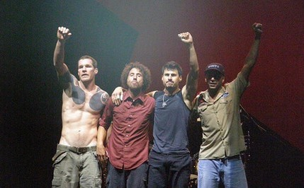 Rage Against the Machine... that is Paul Ryan. Ouch.