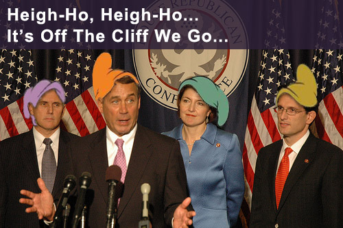 Yes, Washington is Broken. Off The Fiscal Cliff We Go.