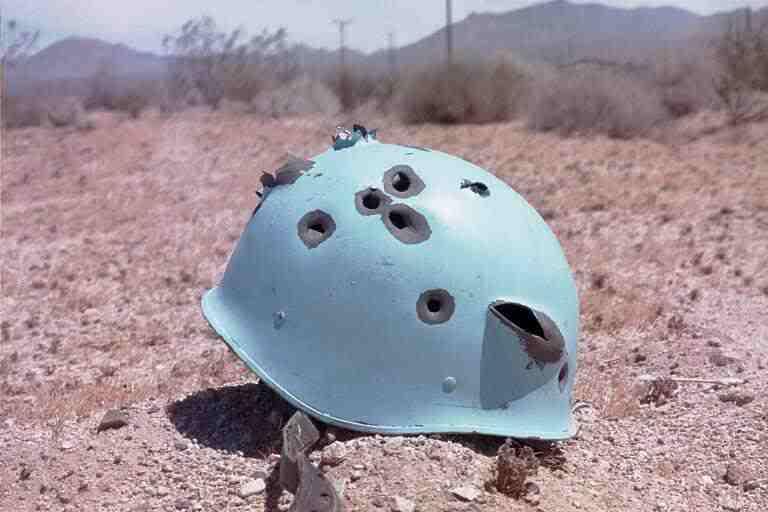 UN_helmet-bullet-holes-paranoid-republic
