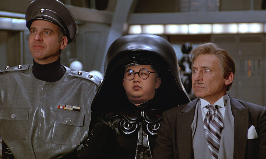 Threats By North Korea. Kim Jong Un: Classic Spaceballs