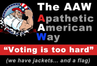 Apathetic Americans might not vote in 2014 elections.