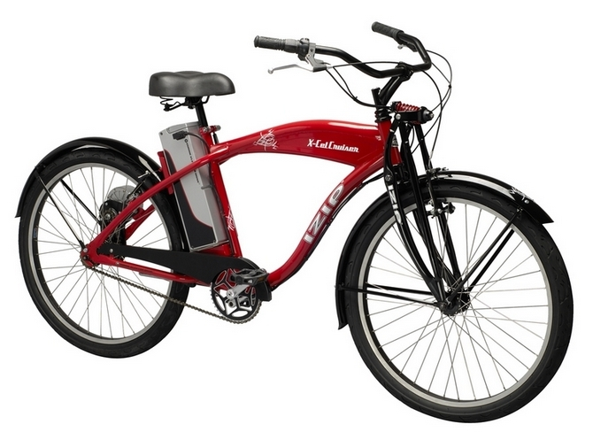 Izip Cruiser Electric Bike Politusic