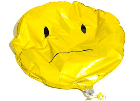 Image result for deflated birthday balloons