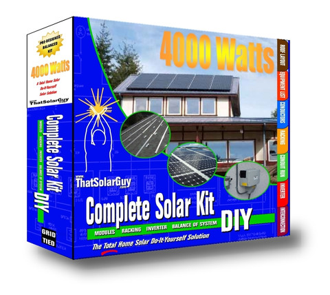 Home Solar Panel Kit Diy