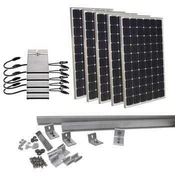 1250 Watt Solar Panel Kit Politusic
