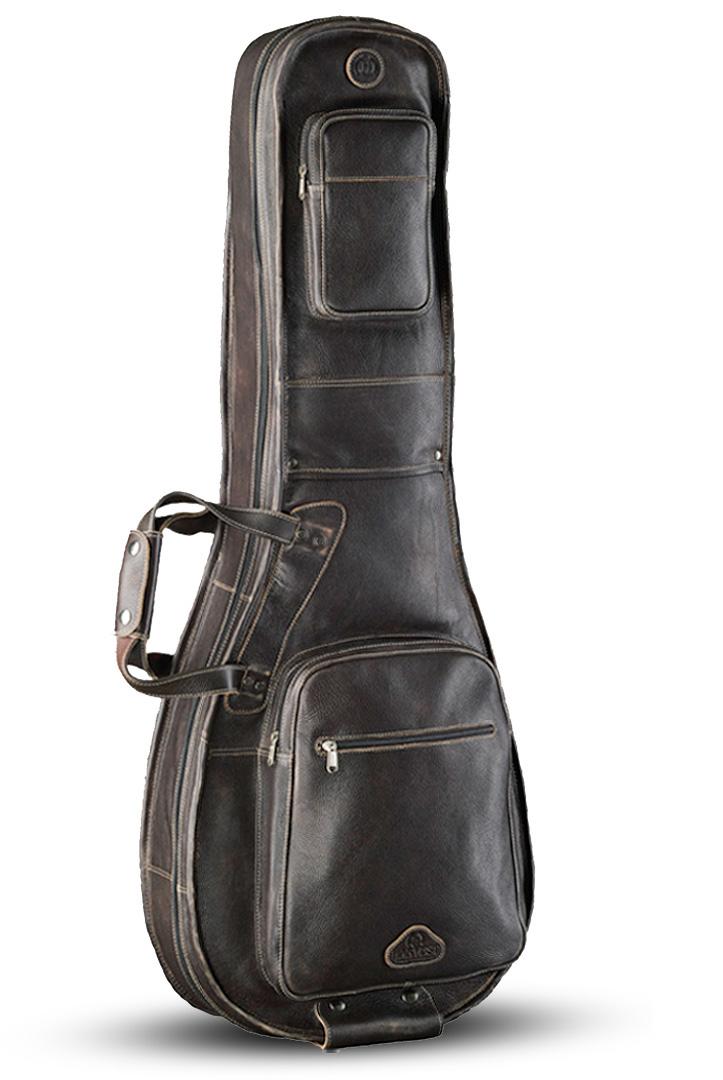 harvest leather guitar case politusic. Black Bedroom Furniture Sets. Home Design Ideas
