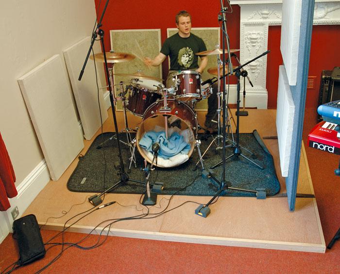 short floated floor drum riser politusic